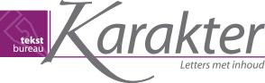 Karaktertekst logo